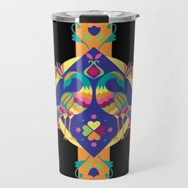 Peacocks Travel Mug