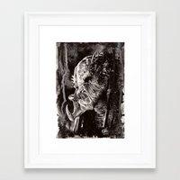 predator Framed Art Prints featuring Predator by Stephanie Nuzzolilo