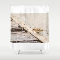 sparrow Shower Curtains featuring sparrow by Marcel Derweduwen
