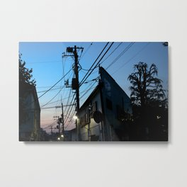 NAKANO NIGHT Metal Print