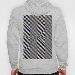 Broken Abstract Art (80s Style Pattern) Hoody