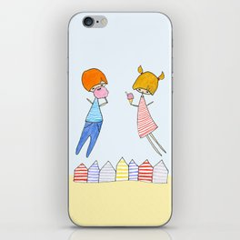 Let's go to the beach! iPhone Skin