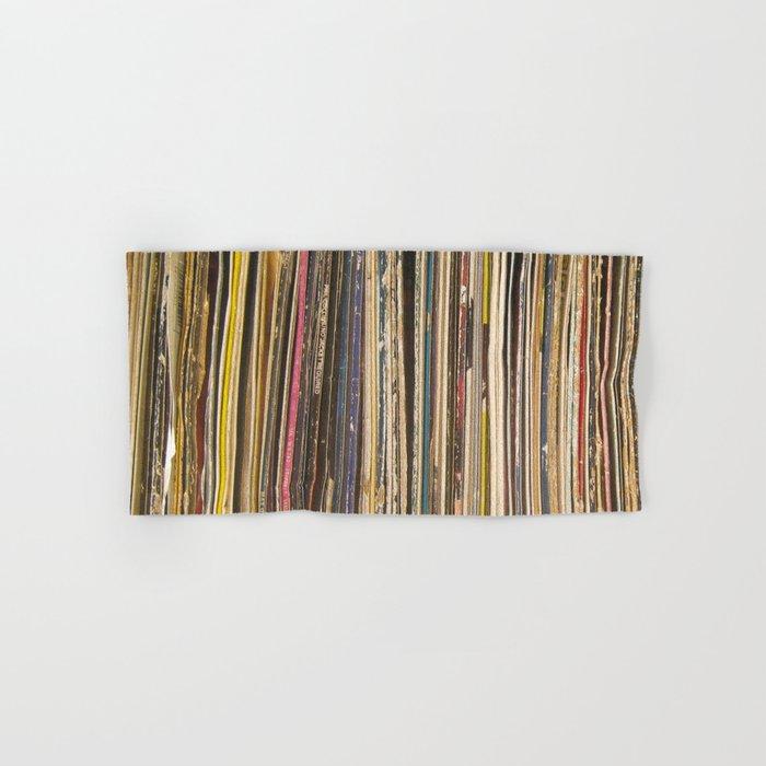 Records Hand & Bath Towel