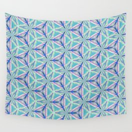 Peacock Pattern Wall Tapestry