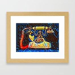 Calling Kandinsky Framed Art Print