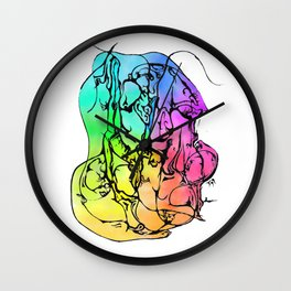 Hidden Dancer Wall Clock