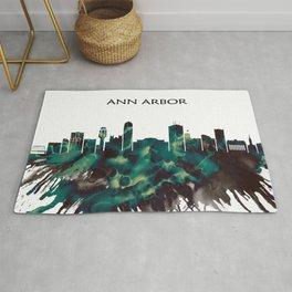 Ann Arbor Skyline Rug