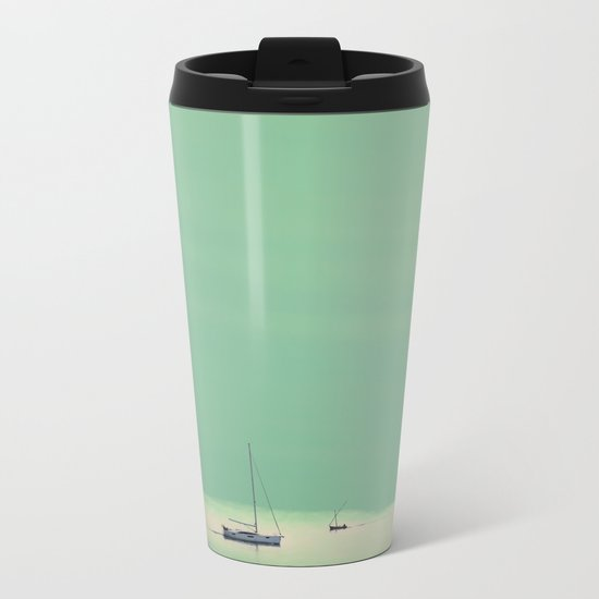 Smell the sea and feel the sky Metal Travel Mug