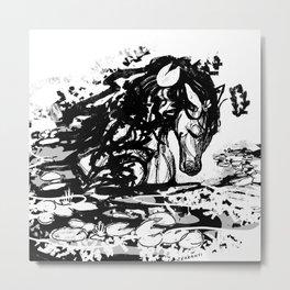 Lily Maremaid Metal Print