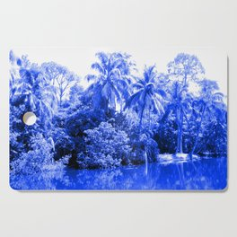 Florida in Blue Cutting Board