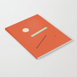 minimalist red #1 Notebook