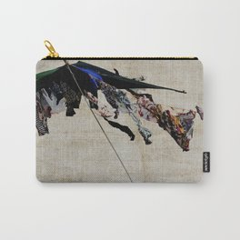 clothes in the wind Carry-All Pouch