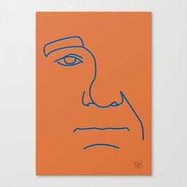 Bill Murray - Steve Zissou palette Canvas Print