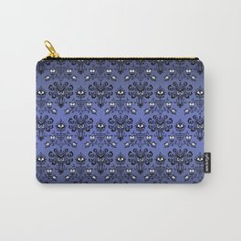 Owl Ghost and Cyclops Monster Pattern Art Carry-All Pouch