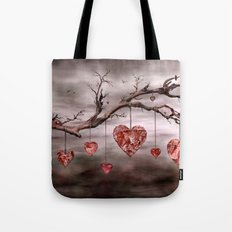 The new love tree Tote Bag