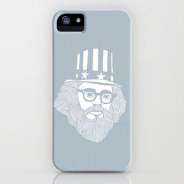 Allen Ginsberg - I don't feel good iPhone Case