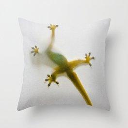 Gekko Throw Pillow
