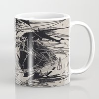 salvador dali Mugs featuring Dali by nicebleed
