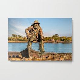 Fishermans Memorial Metal Print