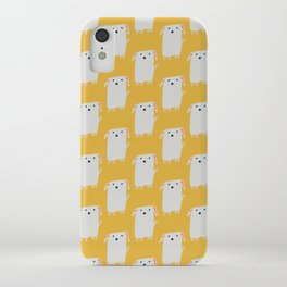 Cute sweet Dog Yellow iPhone Case