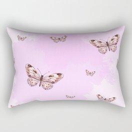 Butterflies II Rectangular Pillow