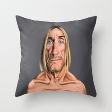 Celebrity Sunday ~ Iggy Pop Throw Pillow