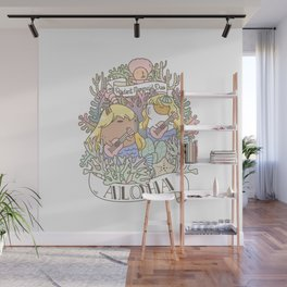 Rodent Mermaid Duo Wall Mural