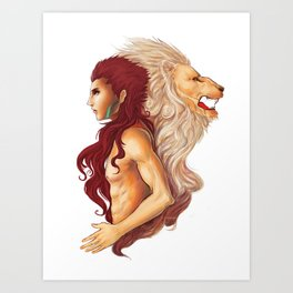 Inner Courage Art Print