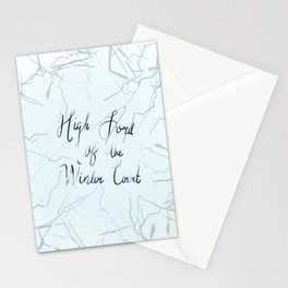 High Lord of the Winter Court Stationery Cards