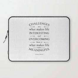 Challenges  Laptop Sleeve