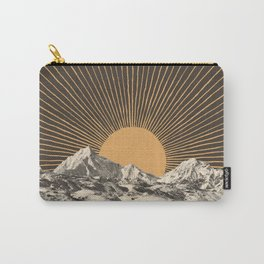Mountainscape 6 - Night Sun Carry-All Pouch
