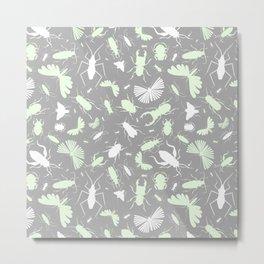 Beetles & Ants Metal Print