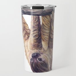 Wookie the Two-Toed Sloth Travel Mug