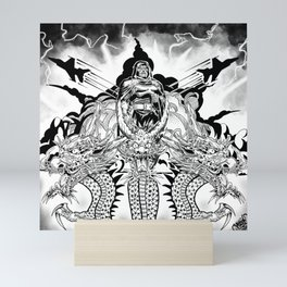 King Geedorah Mini Art Print