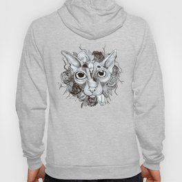 Kitty's Pretty Floral Mane Hoody
