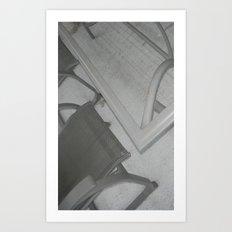 chairs Art Print