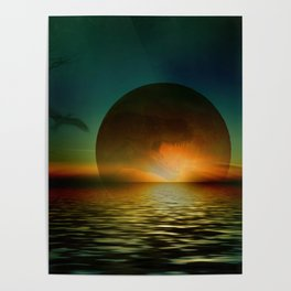 it's a bad moon rising Poster
