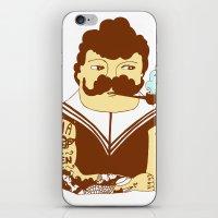 sailor iPhone & iPod Skins featuring Sailor by Regina Rivas Bigordá