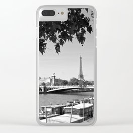 The River Seine Clear iPhone Case