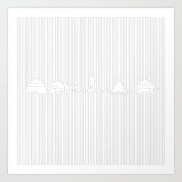 Stavernslinjen Art Print