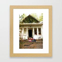 (broken) dream house Framed Art Print