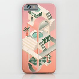 Hot Springs Tower iPhone Case