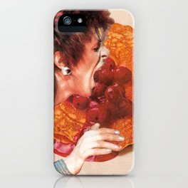 Bowie Likes Pancakes iPhone Case