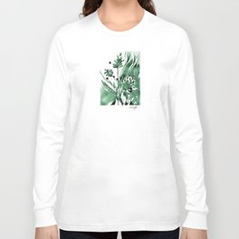 Organic Impressions No. 103 by Kathy Morton Stanion Long Sleeve T-shirt