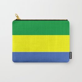 gabon country flag Carry-All Pouch