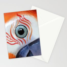 Orange Parrot Stationery Cards