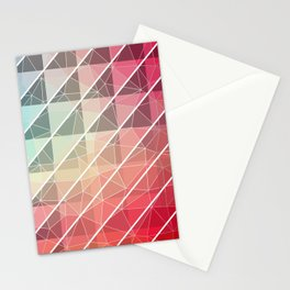Abstract Geometric Design Stationery Cards