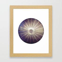 O, horizon Framed Art Print