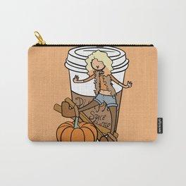 Pumpkin Spice Latte Carry-All Pouch