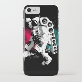 Basstronaut iPhone Case